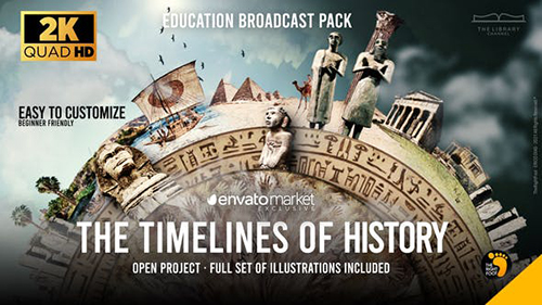 Inspiring History Education Channel Pack 33022270 - Project for After Effects (Videohive)