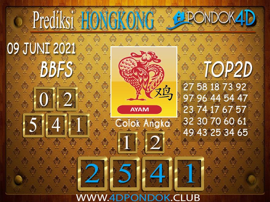 Prediksi Togel HONGKONG PONDOK4D 09 JUNI 2021