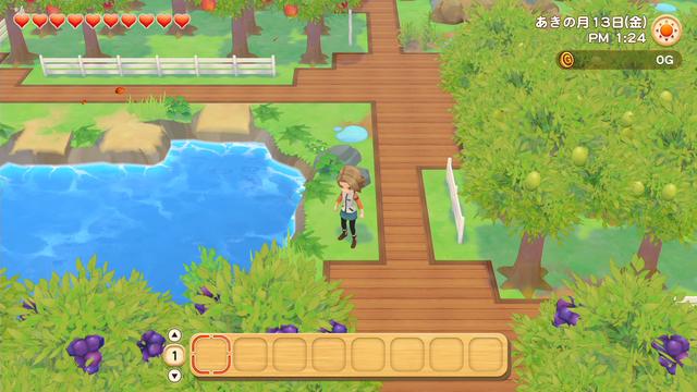 「牧場物語」系列首次在Nintendo SwitchTM平台推出全新製作的作品!  『牧場物語 橄欖鎮與希望的大地』 於今日2月25日(四)發售 015