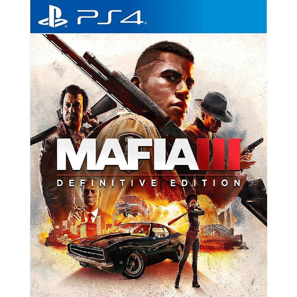 PS4 Mafia III 3 : Definitive Edition (Basic) Digital Download