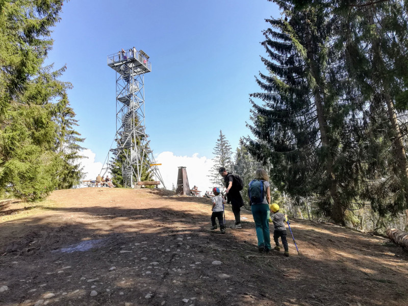 Blueme observation tower
