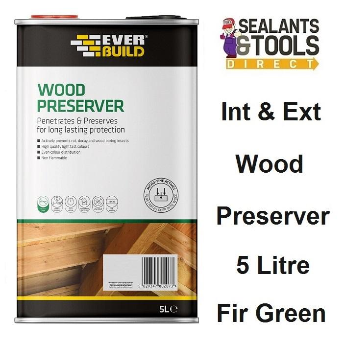 Everbuild-Wood-Preserver-Fir-Green-5-Litre-LJFG05