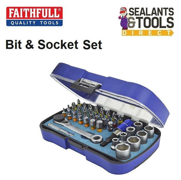 Faithfull-Screwdriver-Bit-Socket-Set-FAISBSET42