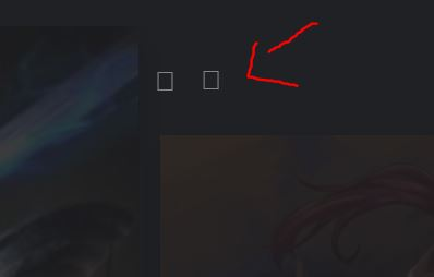 the image of the two arrows does not appear
