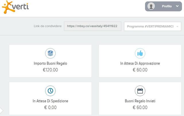 VERTI BONUS BENVENUTO + Promo porta un Amico fino a 400 EURO Buoni AMAZON Cumulabili 2019-Mag27-verti-120-1