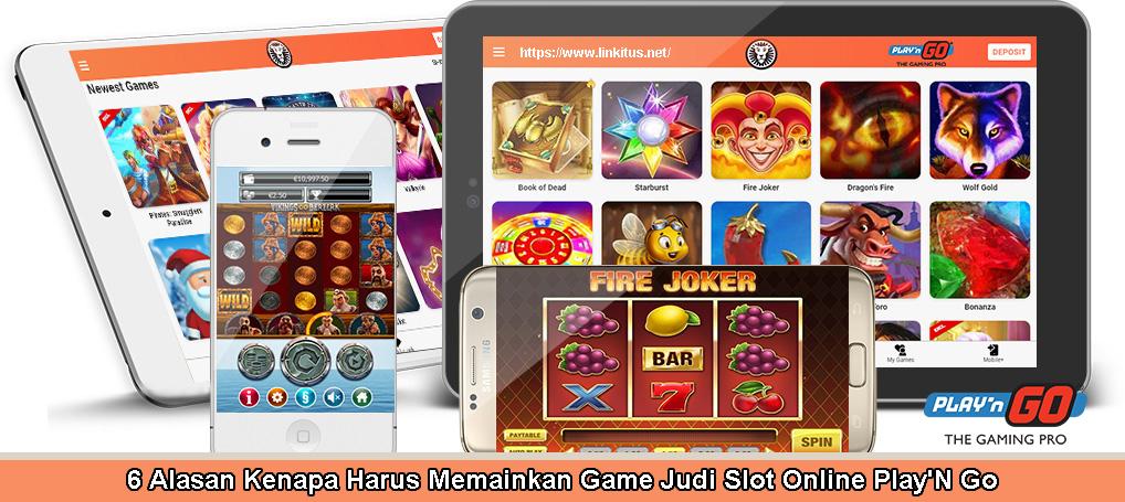 Jenis-Jenis Permainan Judi Slot Play'N GO Terbaik
