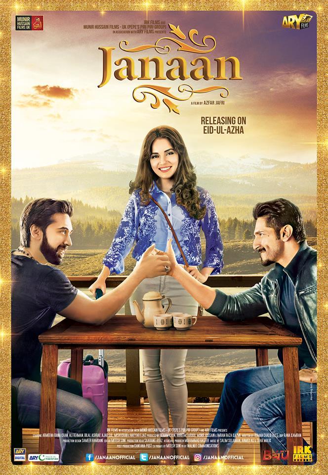 Janaan (2016) Urdu Movie 480p HDRip 400MB Download