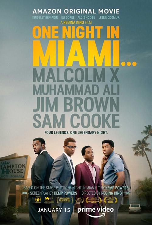 Miami'de Bir Gece | One Night in Miami | 2021 | m720p - m1080p | WEB-DL | Türkçe Altyazılı | Tek Link
