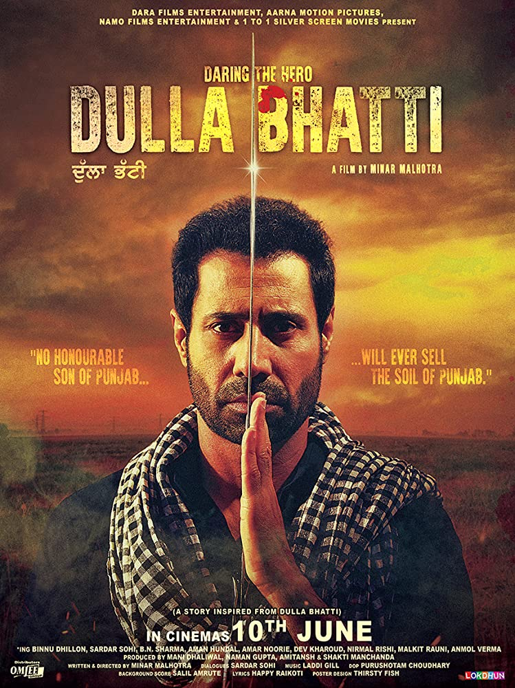 Dulla Bhatti Wala 2016 Panjabi 720p HDRip ESubs 750MB | 350MB Download