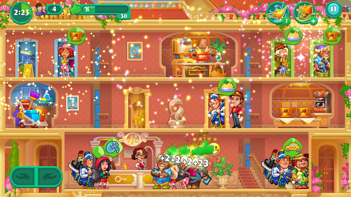 Grand Hotel Mania – Hotel Games Idle Hotel Tycoon 5