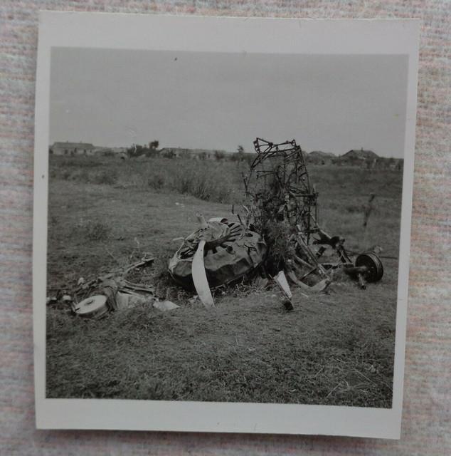 Foto-zerst-rtes-russisches-Flugzeug-Propeller-WW2