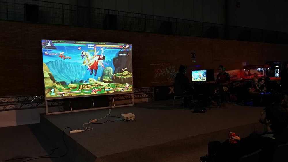 Competición de Dragon Ball en la DreamHack de Sevilla