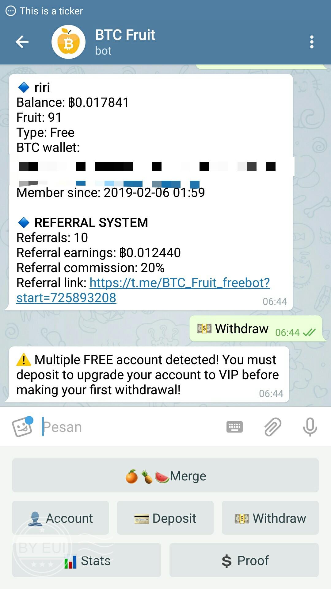Crypto legit and bot telegram – Telegram