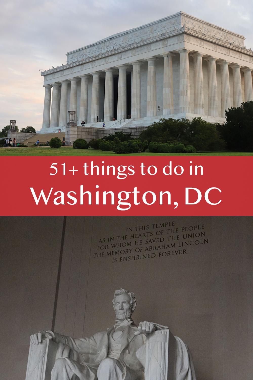 51+ Things to Do in Washington, DC