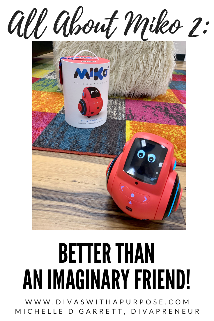 All about Miko 2 - your child's at-home friend and teacher that uses playful, conversational learning to educate while entertaining and engaging. #miko2 #miko2robot