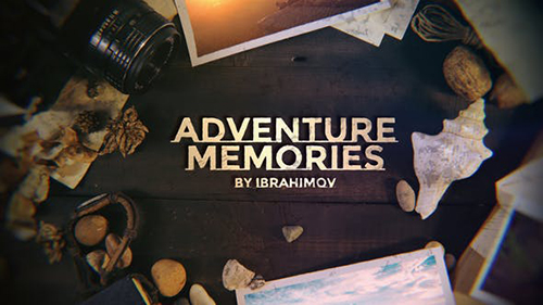 Adventure Memories Opener 30265417 - Project for After Effects (Videohive)