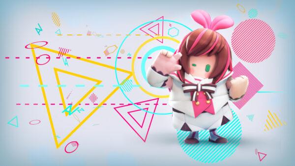 《糖豆人:終極淘汰賽》限時绊爱服裝將於3月27日至29日上市 Fall-Guys-Kizuna-AI-03-22-21-600x338