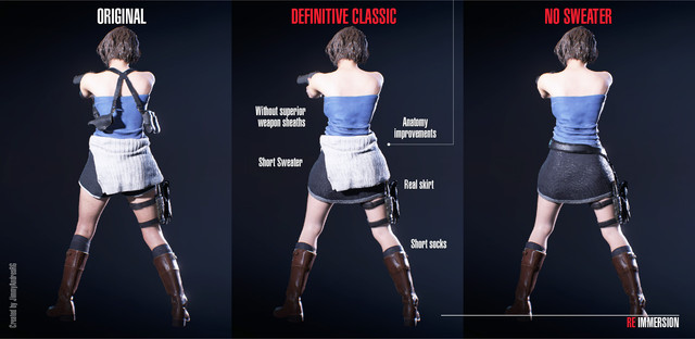 Jill Definitive Classic Costume At Resident Evil 3 2020 Nexus