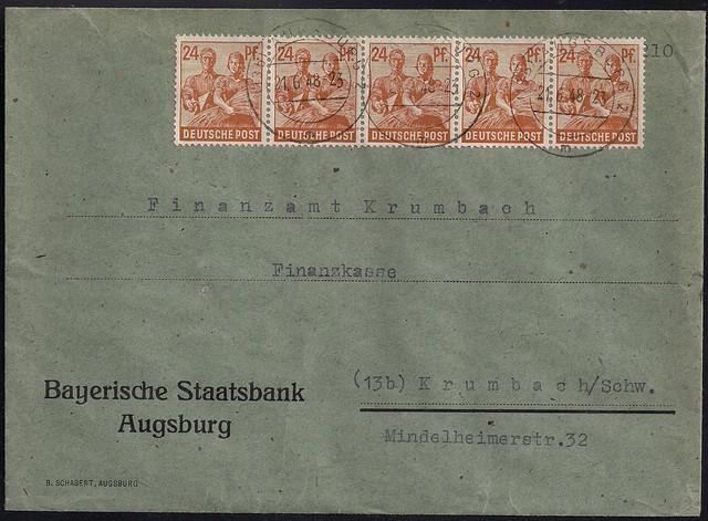 1948-06-21-All-BIZ-ZF-II-Kontrollrat-480-Pf-Augsburg-V