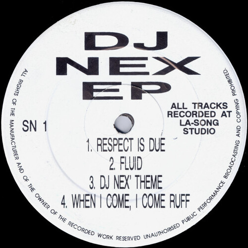 DJ Nex - DJ Nex EP