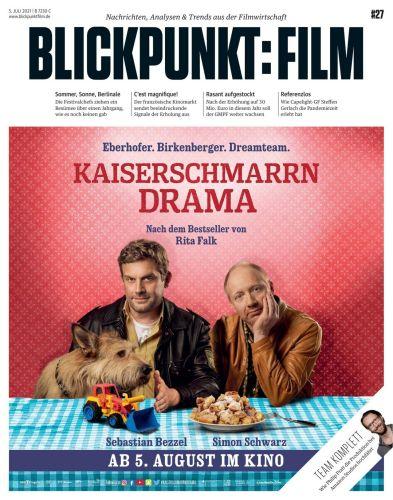 Cover: Blickpunkt Film Magazin No 27 vom 05  Juli 2021