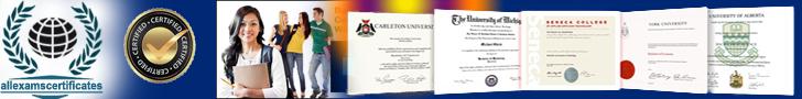 Online certificates Degrees