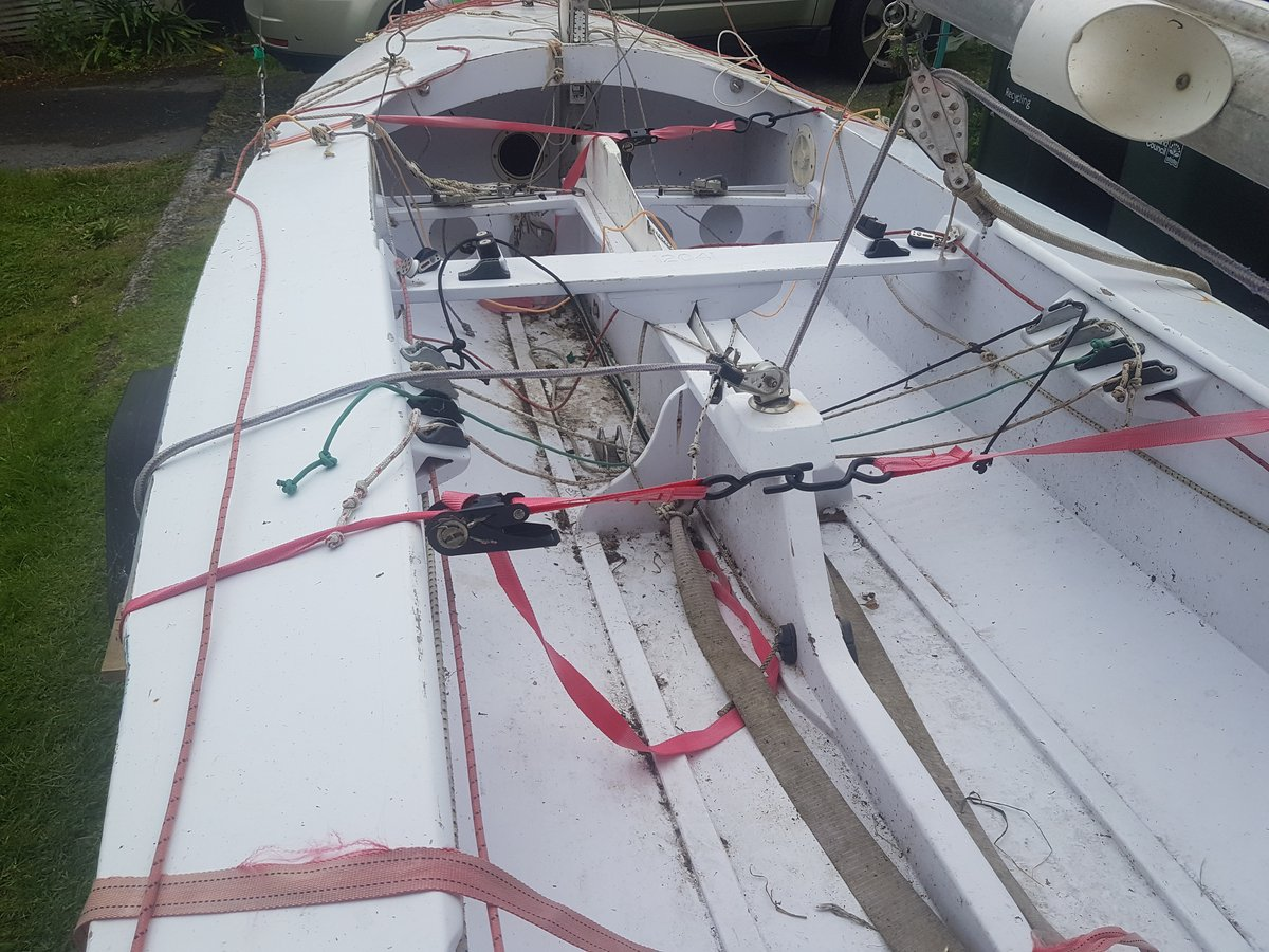 The boat, cockpit