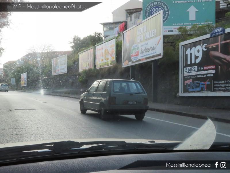 avvistamenti auto storiche - Pagina 18 Fiat-Uno-D-1-3-45cv-84-CT668524-485-471-5-4-2019