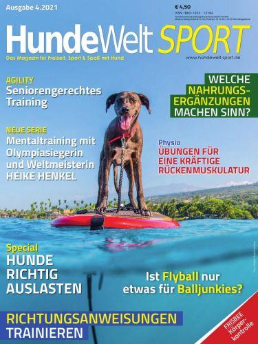 Cover: HundeWelt Sport Magazin No 04 2021