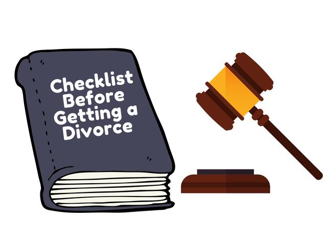 Checklist-Before-Getting-a-Divorce