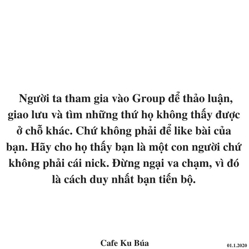 MỤC ĐÍCH CỦA GROUP – VÌ SAO BẠN ÍT LIKE