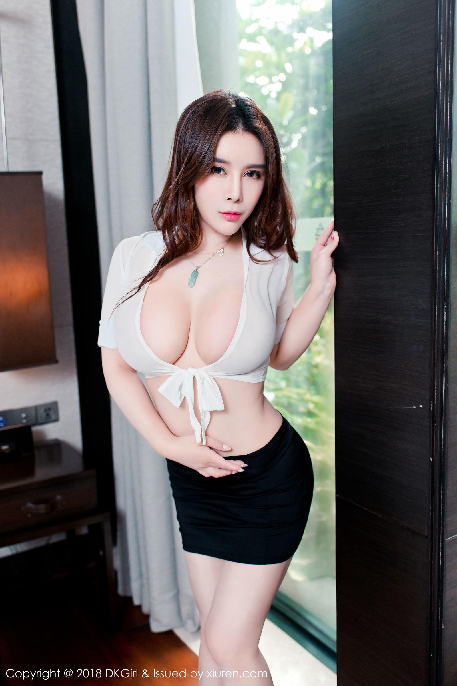 [DKGirl御女郎] Vol.083 雪千寻 - 成熟少妇,丰乳肥臀