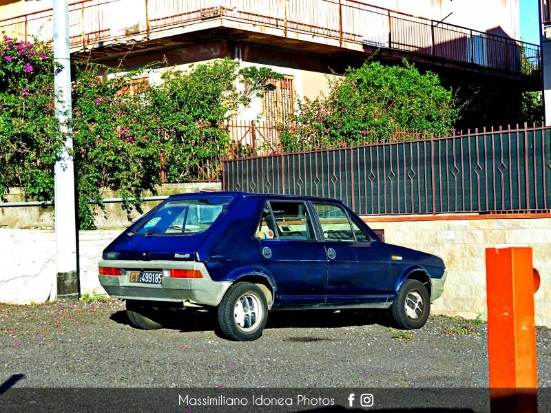 avvistamenti auto storiche - Pagina 40 Fiat-Ritmo-60-1-1-80-CT499185-1
