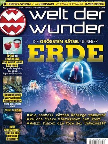 Cover: Welt der Wunder Magazin November No 11 2021