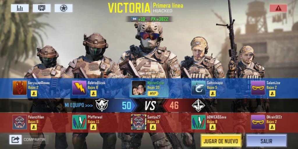 Modo Multijugador en Call of Duty Mobile