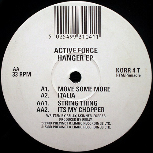 Active Force - Hanger EP