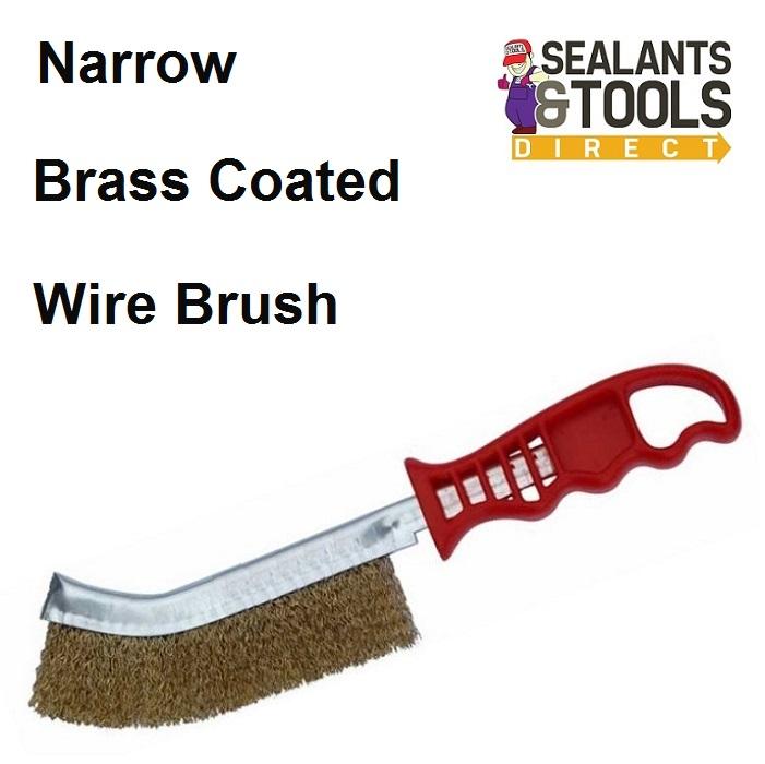 CornerTape Silicone Residue Remover Brassed Wire Brush