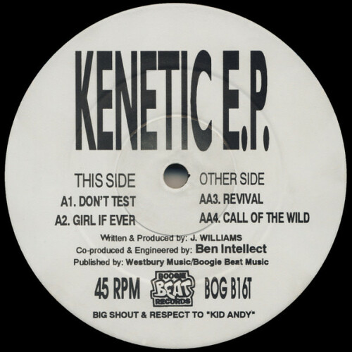 Kenetic - Kenetic E.P. 1992