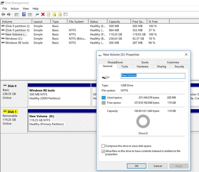 USB-Windows-Disk-Management