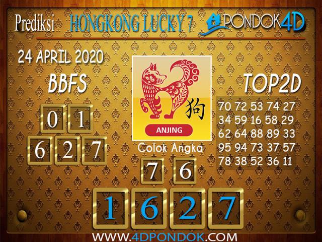 Prediksi Togel HONGKONG LUCKY 7 PONDOK4D 24 APRIL 2020