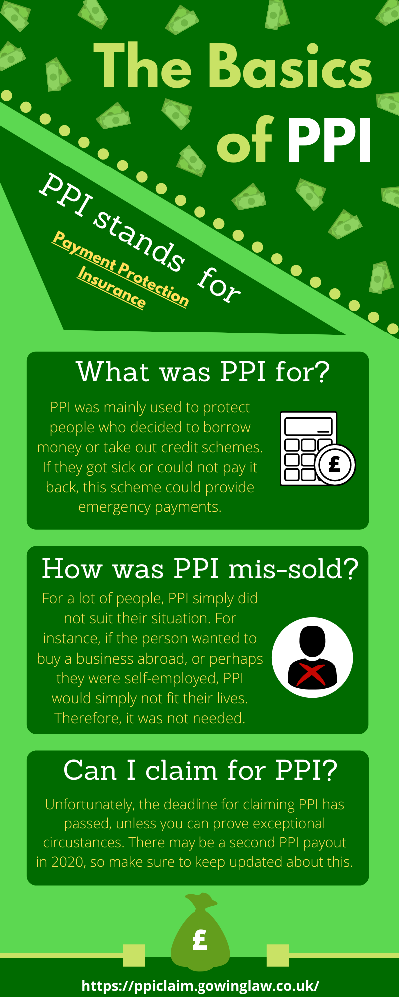 basics of PPI infographic