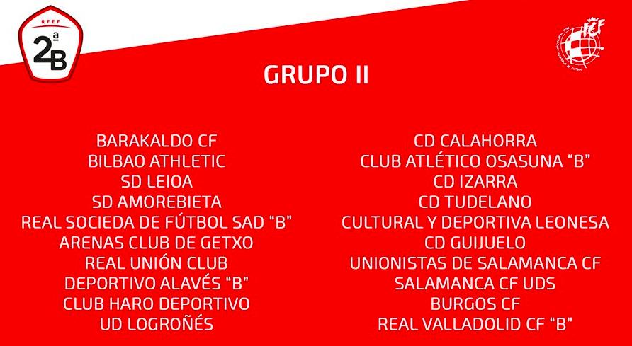 Real Valladolid PROMESAS - Temporada 2019/20 - 2ª División B Grupo II GrupoII