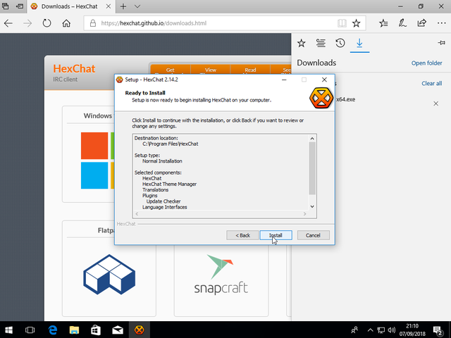 Instructions for using chat with Hexchat - SAUK Discussion Board
