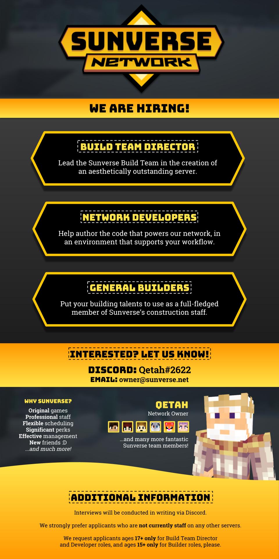 Original Games] SUNVERSE -- hiring motivated Developers