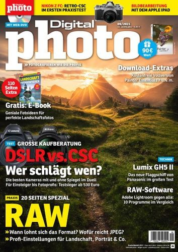 Cover: Digital Photo Magazin No 09 2021