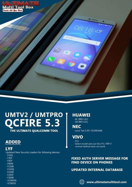 UMTv2 / UMT Pro - QcFire v5.3