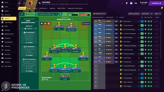 FOOTBALL MANAGER 2021 – BETA 版已釋出 Watford-Tactics-EN