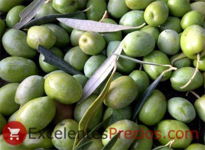 Rendimiento de la aceituna, aceitunas verdes