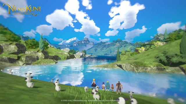 LEVEL-5與韓國Netmarble合作開發的手游《二之國 交錯世界》全新畫面截圖公佈,展示遊戲世界與登場人物。 Image
