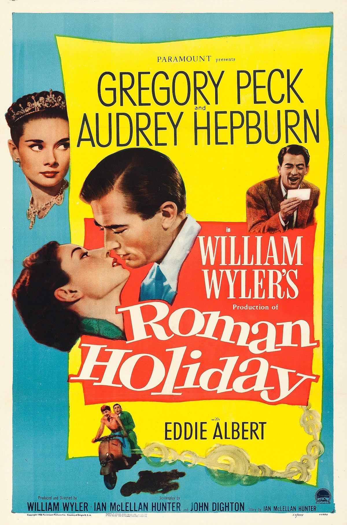 რომაული არდადეგები ROMAN HOLIDAY